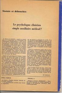 Le P.C. simple auxiliaire médical??